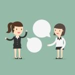 Obrazek: Kontakt - dwie rozmawiające osoby
